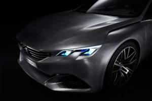 Konceptbil Peugeot Exalt